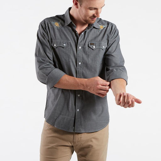 Howler Brothers Crosscut Deluxe Snapshirt
