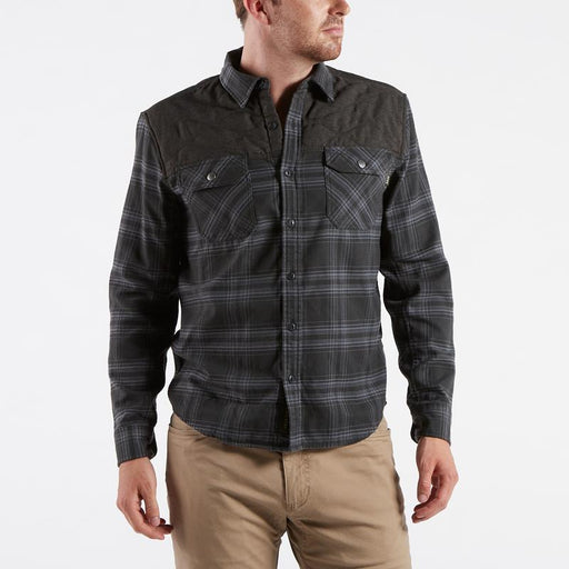 60% cotton, 40% polyester flannel Cats eye buttons at placket and cuffs Howler heritage snaps at chest pockets Regular fit Super soft brushed finish