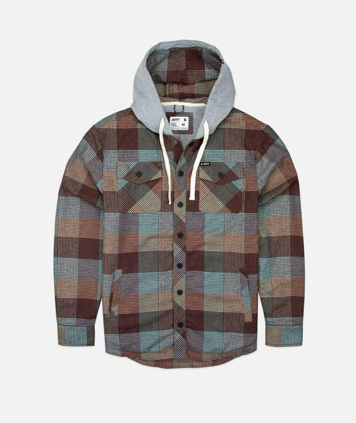Jetty Mayfly Hooded Flannel Jacket
