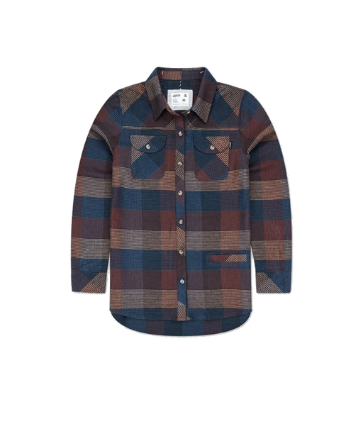Jetty Womens Tellulah Flannel - 88 Gear