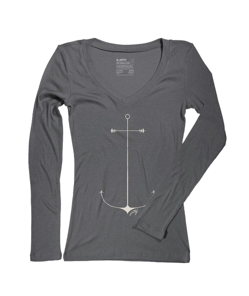 Jetty Starboard Anchor Women's Tee - 88 Gear