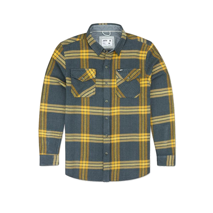 Jetty Arbor Heavy Flannel Shirt - 88 Gear