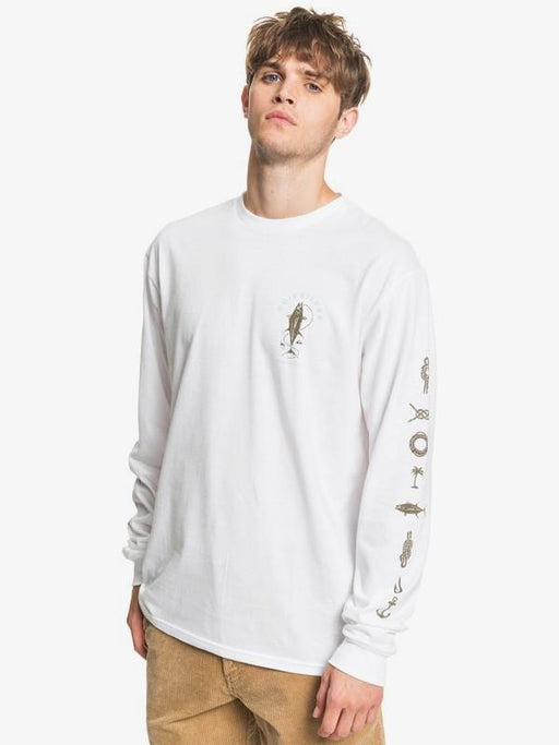 Quiksilver Sea Grove Long Sleeve T-Shirt - 88 Gear