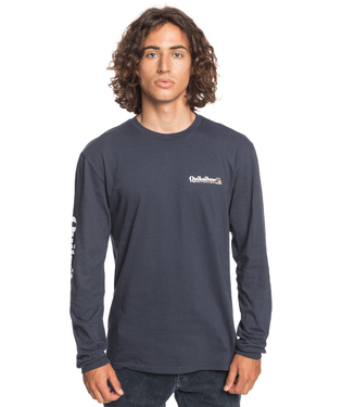 Quiksilver Check Yo Self Long Sleeve Tee - 88 Gear