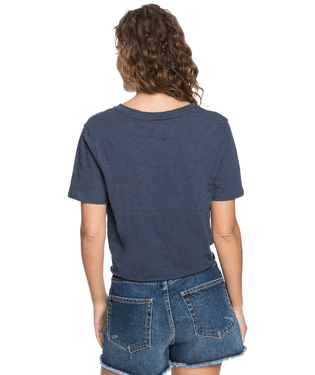 Roxy Salty Notched T-Shirt - 88 Gear