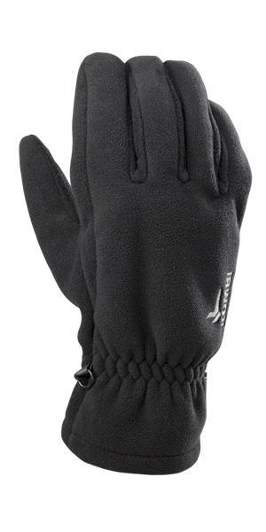 SHELL: Wind-Guard fleece back of hand PALM: 200G Recycled fleece Z2 PU patch on palm, thumb, & index finger CUFF: Pull-on style with secure elastic wristing FEATURES: Profile fit