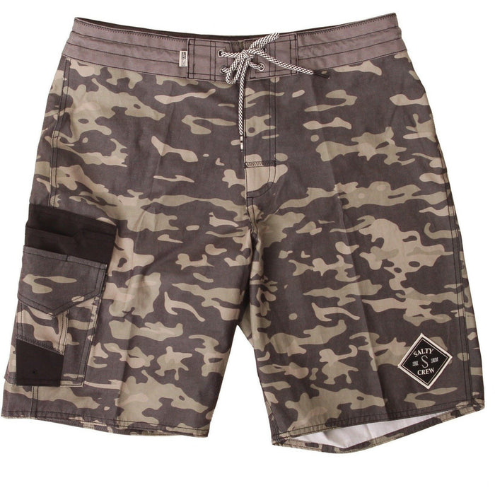 Boardshorts - Salty Crew Fisher Camo Utility Trunk