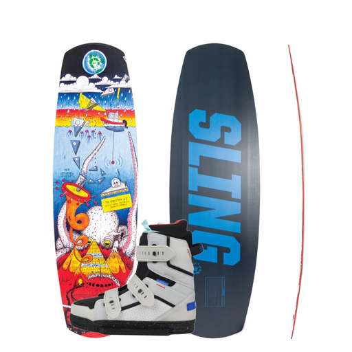 Slingshot Coalition Wakeboard Package - 88 Gear