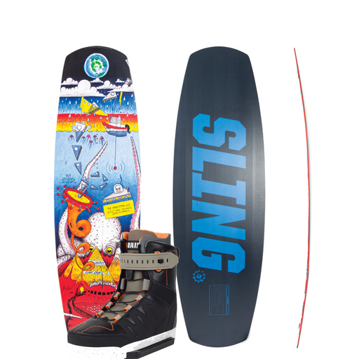 Slingshot Coalition Board with Rad Boots - 88 Gear