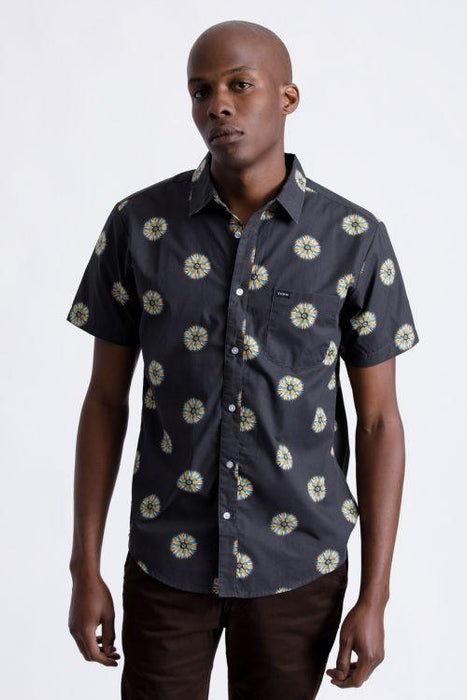 Brixton Charter Print Short Sleeve Shirt - 88 Gear
