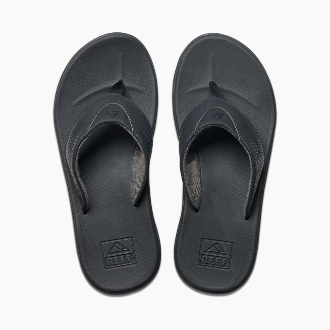 Reef Rover Men's Black Sandals - 88 Gear