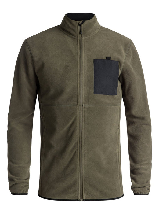 Quiksilver Butter Technical Zip-Up Fleece - 88 Gear