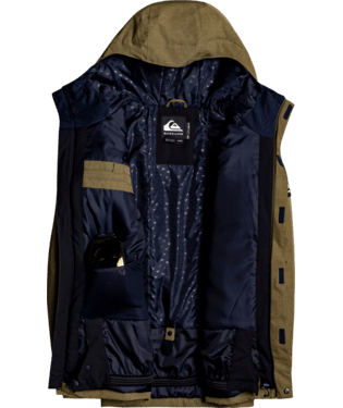 Quiksilver Mission Solid Snow Jacket - 88 Gear