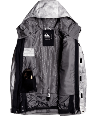 Quiksilver Mission Printed Block Jacket - 88 Gear