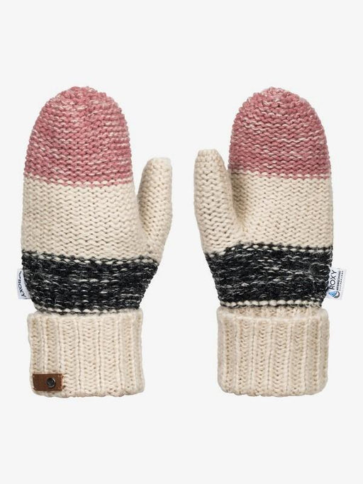Roxy Shelby Block Knitted Mittens - 88 Gear