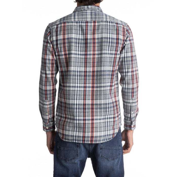 Quiksilver Trogon Way Flannel Long Sleeve Shirt - 88 Gear
