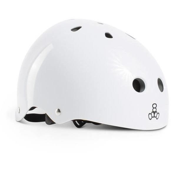 Liquid Force Drop Triple Eight Wake Helmet- White - 88 Gear