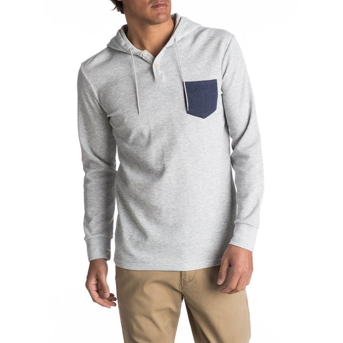Quiksilver Murky Long Sleeve Hooded Tee - 88 Gear