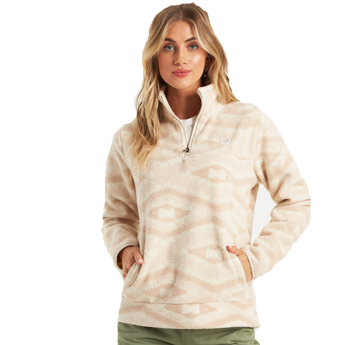 Billabong Boundary Mock Neck Fleece - 88 Gear