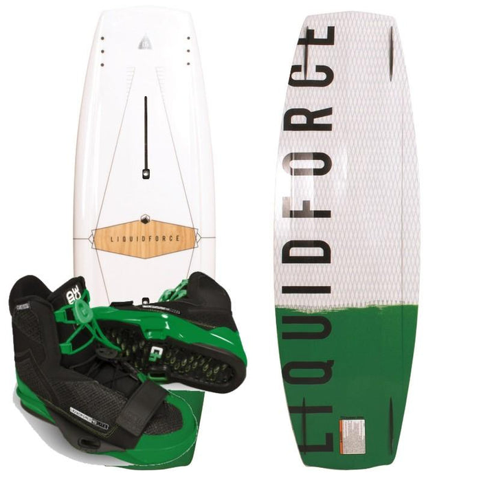 Liquid Force Next Wakeboard Package with 4D Bindings - 88 Gear