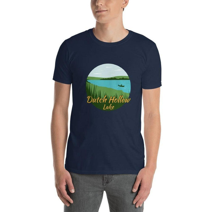 Dutch Hollow Lake Short-Sleeve Unisex T-Shirt - Launch Cable Park