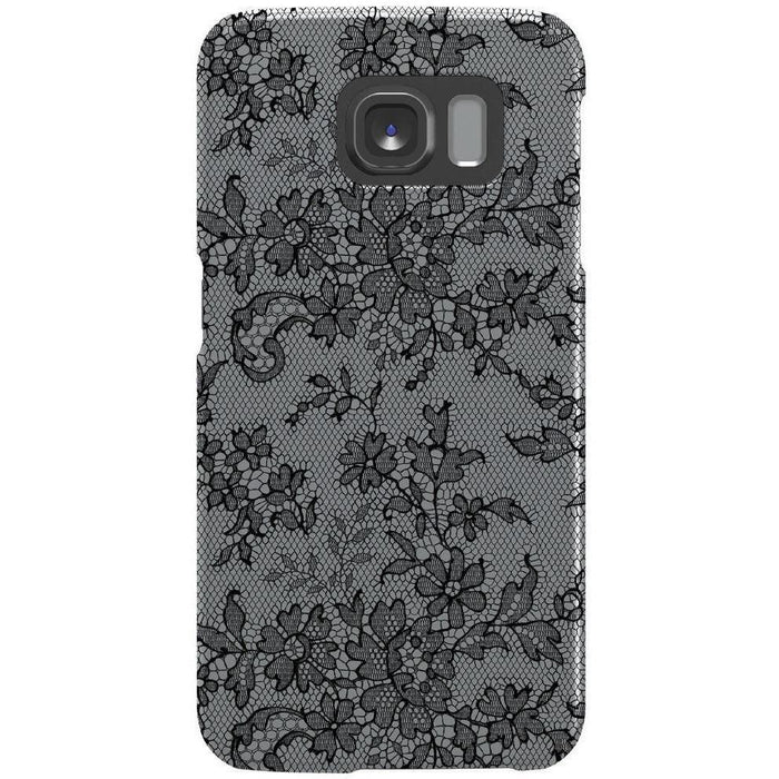 Phone Cases - Agent 18 SlimShield Samsung Galaxy S6 Phone Case - Fishnet Lace