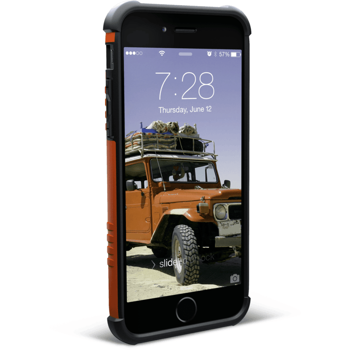 Phone Cases - UAG Outland Phone Case IPhone 6/6S  RUST ORANGE