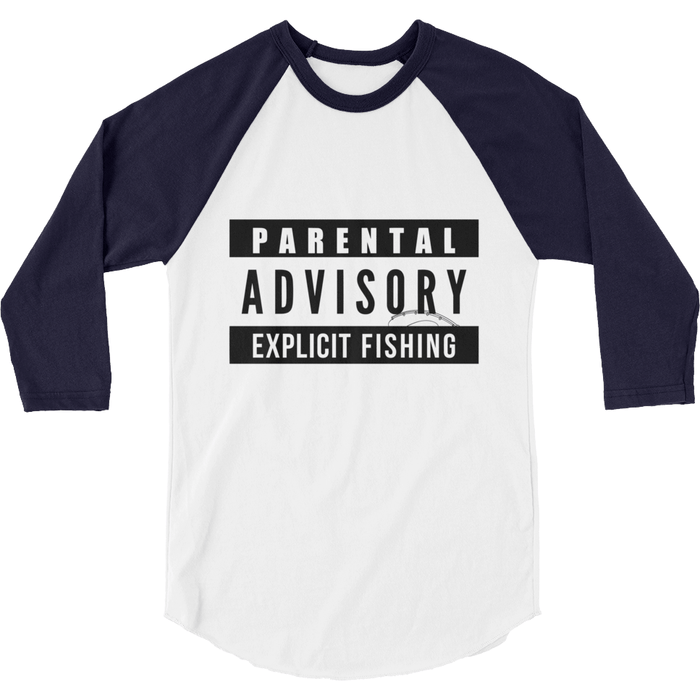 Raglan Shirt - Explicit Fishing Raglan Shirt