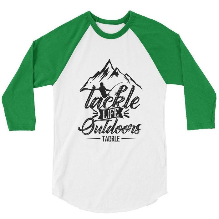 Tackle Fishing 3/4 sleeve raglan shirt - 88 Gear