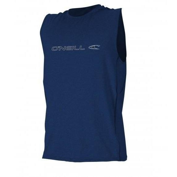 Rash Guard - O'Neill Hybrid Sleeveless Surf Tee - Navy