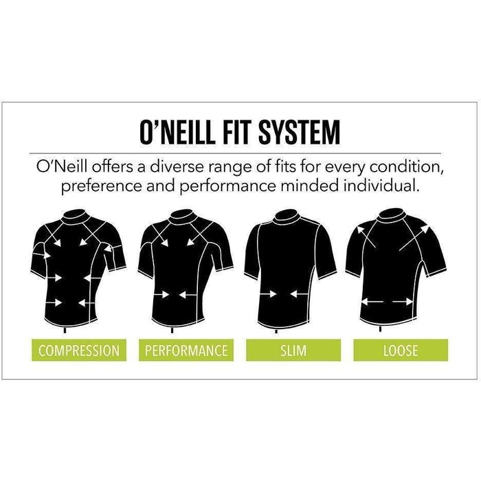 Rash Guard - O'Neill Tech Crew - Lime Surf Shirt
