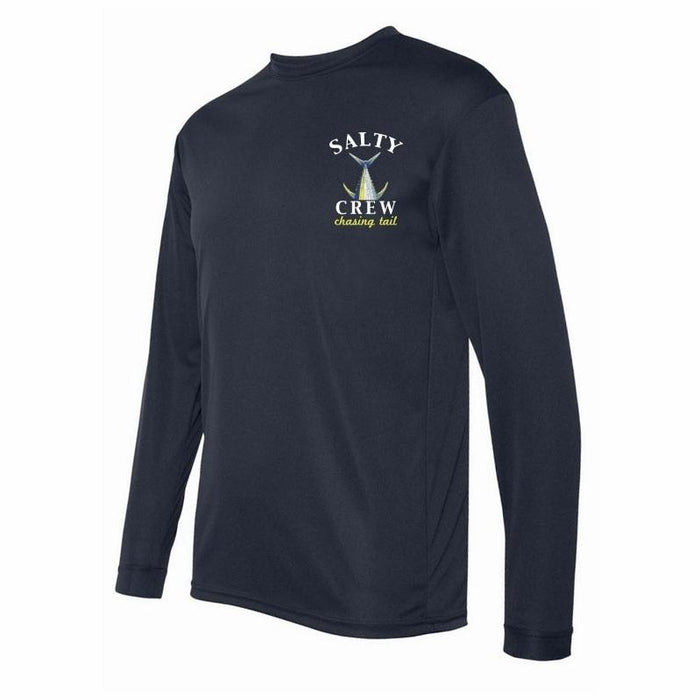Salty Crew Chasing Tail Tech Shirt - 88 Gear