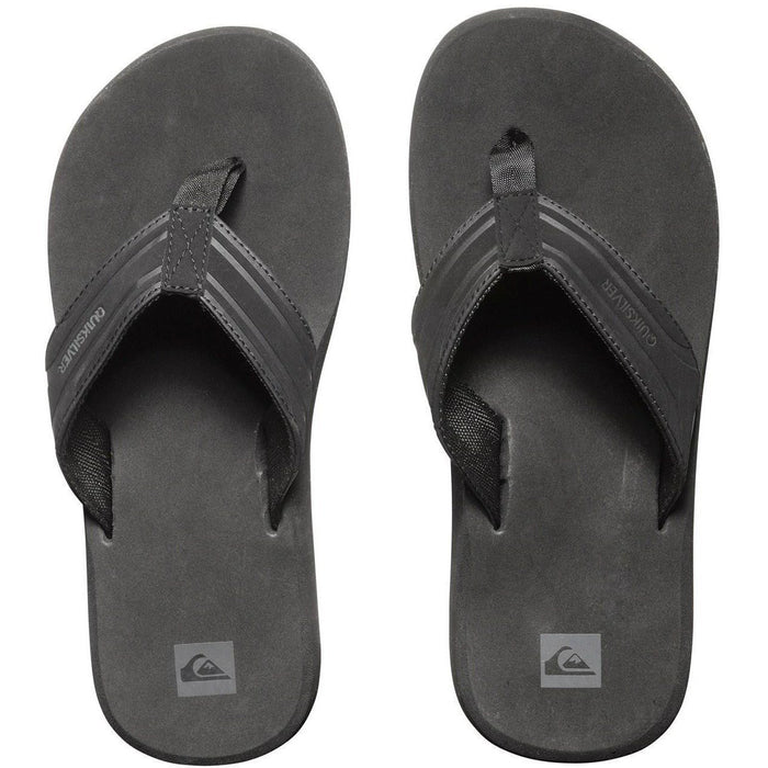 Quiksilver Monkey Wrench Sandals - Black - 88 Gear