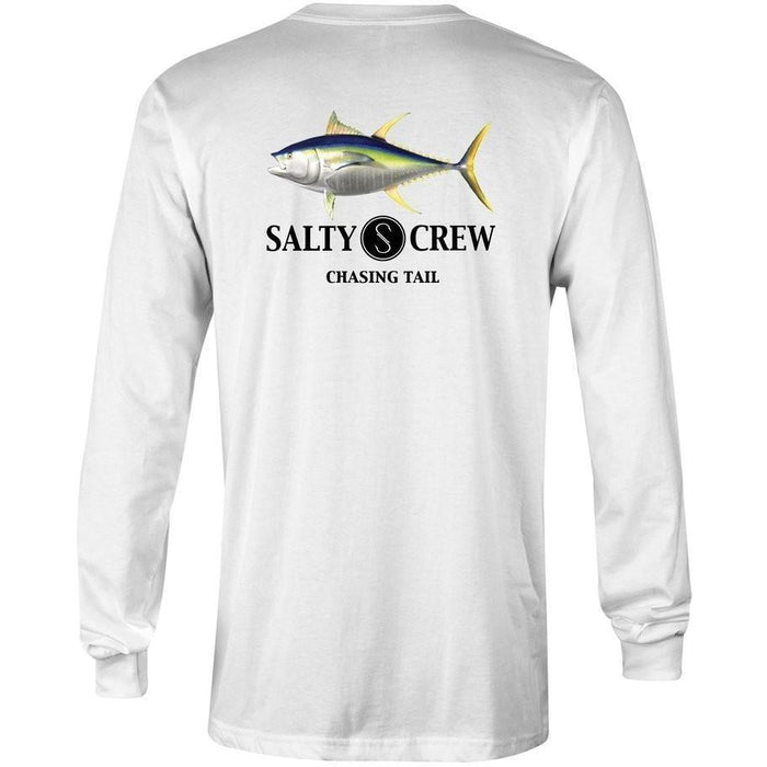 Salty Ahi Fish Tech Long Sleeve Shirt - 88 Gear