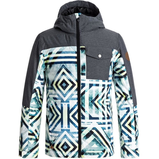 Snow Jacket - Quiksilver Boys 8-16 Mission Block Jacket