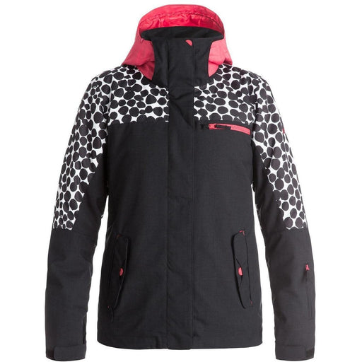 Snow Jacket - Roxy Jetty Block Women's Snow Jacket - Irregular Dots