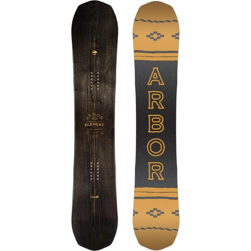 Snowboard - Arbor Element Black Snowboard 2018