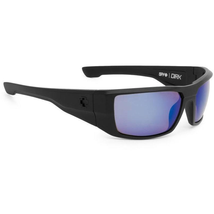 Spy Dirk Sunglasses Matte Black with Polarized Bronze - 88 Gear