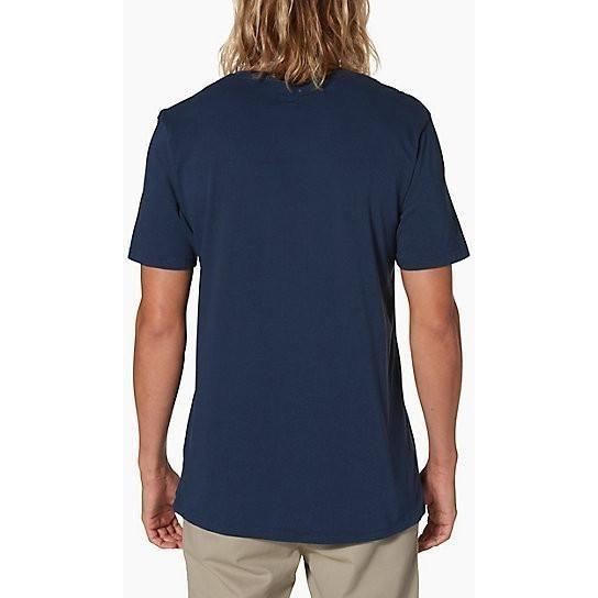 T-Shirt - Reef Men's Vacy Crew Shirt - INDIGO