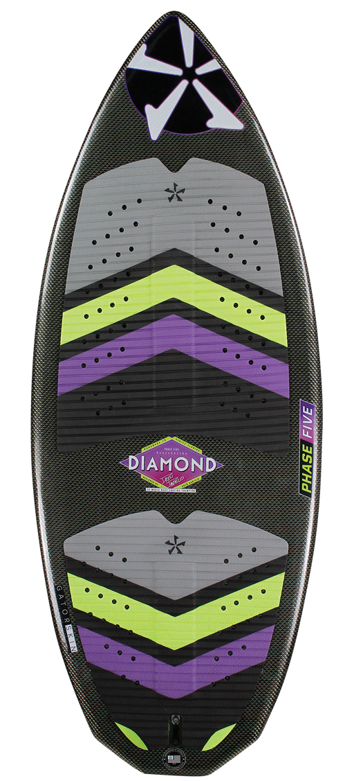 Phase Five Diamond Turbo Wake Skimboard 2020