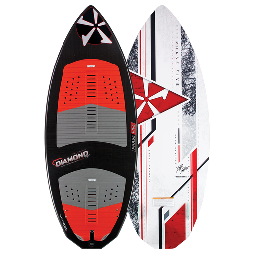 Phase Five Diamond Turbo Wakesurf Board 2021 - 88 Gear