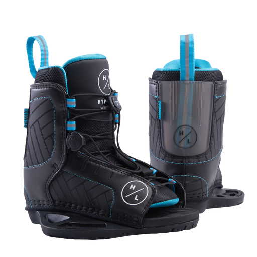 Hyperlite Kid's Remix Wakeboard Bindings - 88 Gear