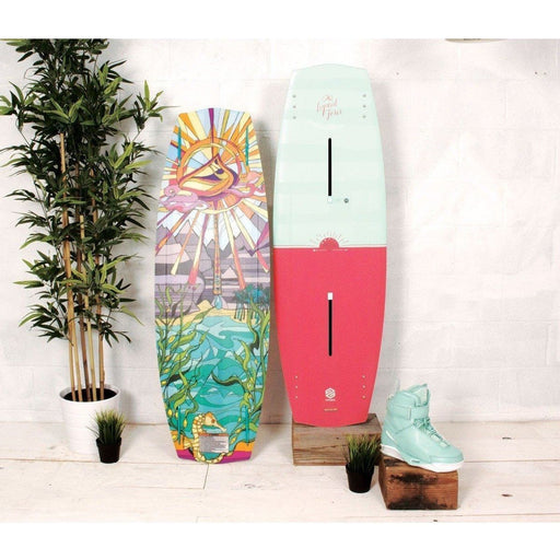 Wakeboard Package - Liquid Force Melissa Wakeboard Package With Trek BLACK 4D Boots - 2017
