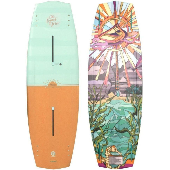 Liquid Force Melissa Wakeboard Package with Trek BLACK 4D Boots - 2017 - 88 Gear