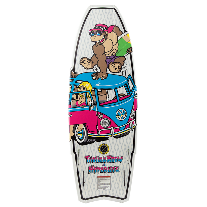 Hyperlite Quad Wakesurf Board 2020 - 88 Gear