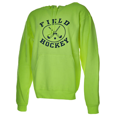 Neon Yellow Field Hockey Hoodie