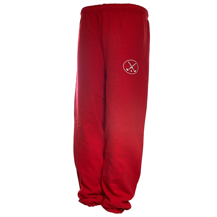 Red Field Hockey Sweats - Crossover Sticks