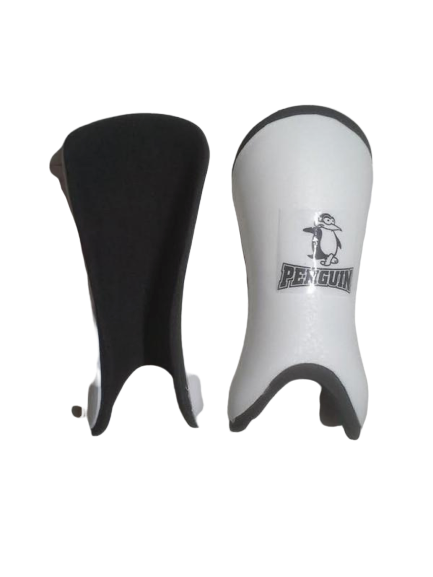 Penguin Shinguards Junior White