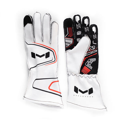 Karting / Sim Gloves (White)
