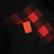 Plaid Pocket Sweatshirt